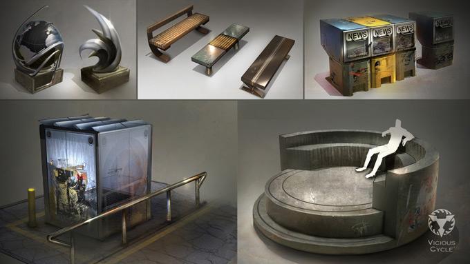 Matt Kohr Concept Art and Illustration