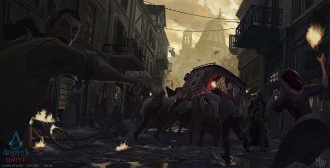 Mauricio_Abril_Concept_Art_Assassins-Creed-Unity-01-Street-Riot