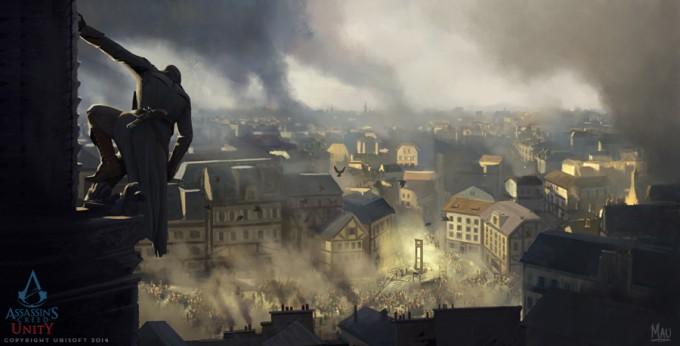 Mauricio_Abril_Concept_Art_Assassins-Creed-Unity-02-Paris-Notre-Dame