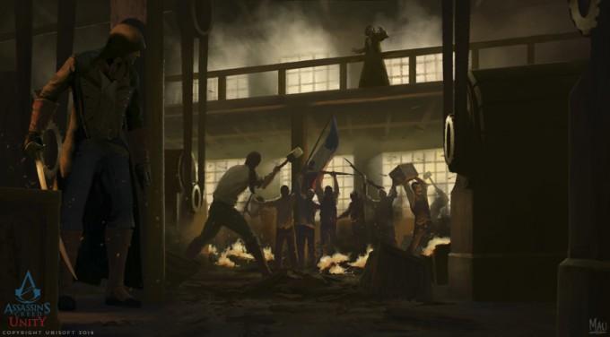 Mauricio_Abril_Concept_Art_Assassins-Creed-Unity-03-Factory
