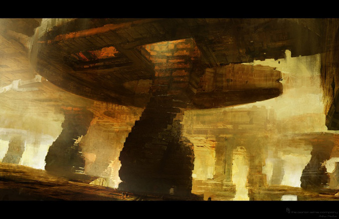 Wrath of the Titans Concept Art by Aaron Sims Co 03a