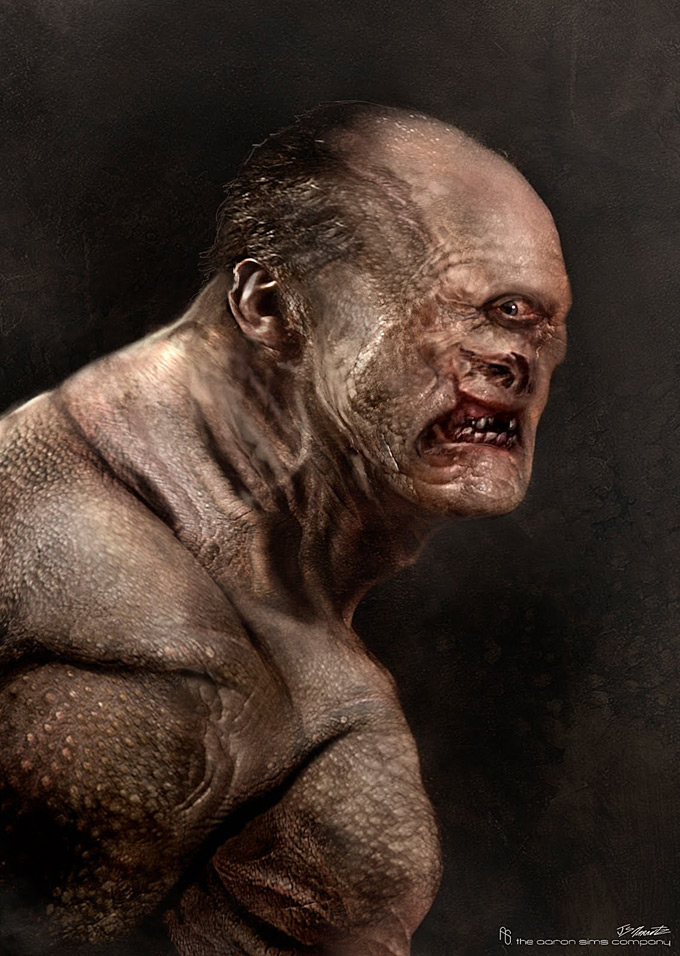 Wrath of the Titans Concept Art by Aaron Sims Co 10a