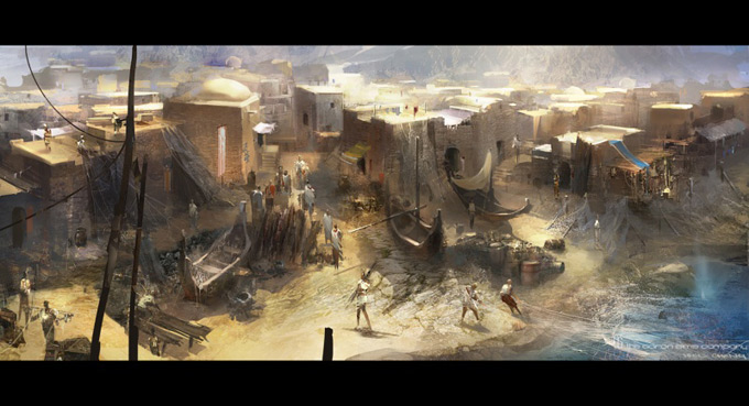 Wrath of the Titans Concept Art by Aaron Sims Co 12a