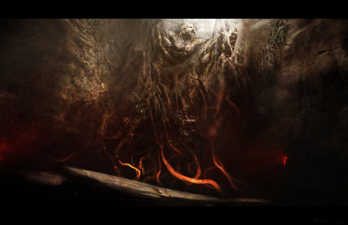 Wrath of the Titans Concept Art by Aaron Sims Co 15a