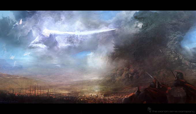 Wrath of the Titans Concept Art by Aaron Sims Co 19a