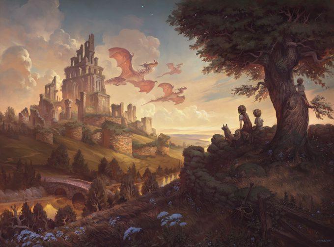 justin gerard Illustration From Ruins