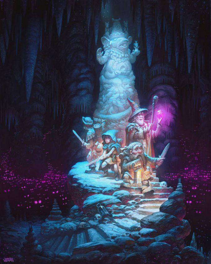 justin gerard Illustration Totem of the Rat King