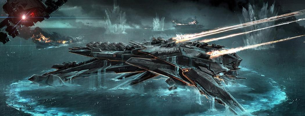 Battleship Concept Art by George Hull MA