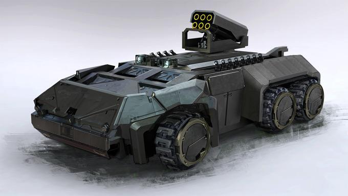 G.I. Joe Concept Art Kemp Remillard 11a
