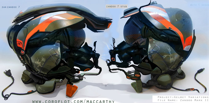 Joe MacCarthy Concept Art and Product Designs