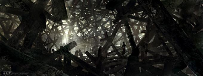 John Carter Concept Art by Seth Engstrom