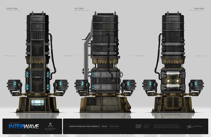 Nuclear Dawn Concept Art by Stuart Kim