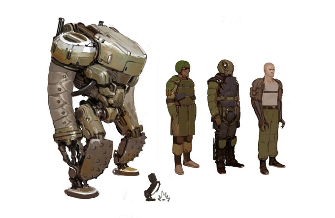 Richard Doble Concept Art