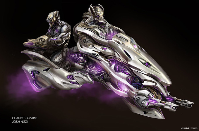 The Avengers Concept Art by Josh Nizzi