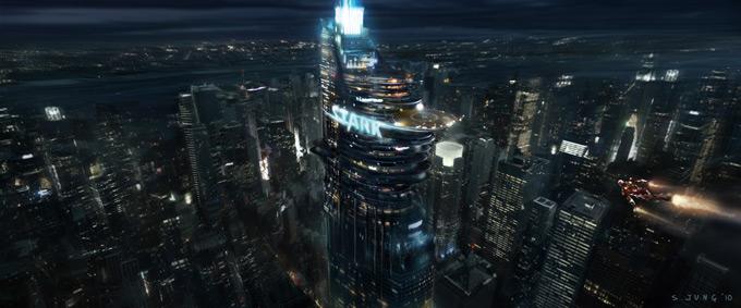 The Avengers Concept Art by Steve Jung