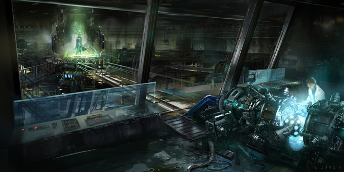 The Avengers Concept Art by Steve Jung