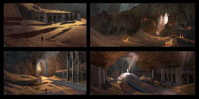 Uncharted 3: Drake's Deception Concept Art by Eytan Zana