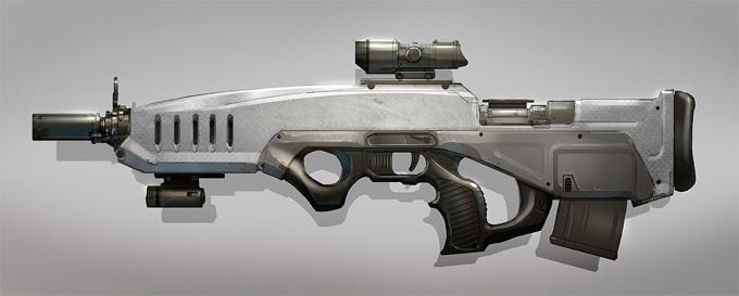 Weapon Concept Art Colin Geller