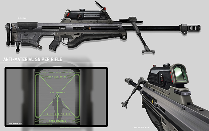 Weapon Concept Art Eliott Lilly