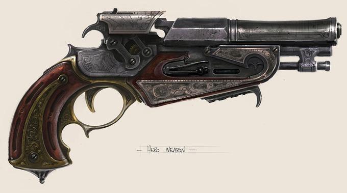 Weapon Concept Art Jeremy Love