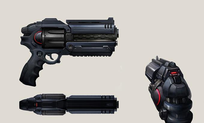 Weapon Concept Art Jos Kao