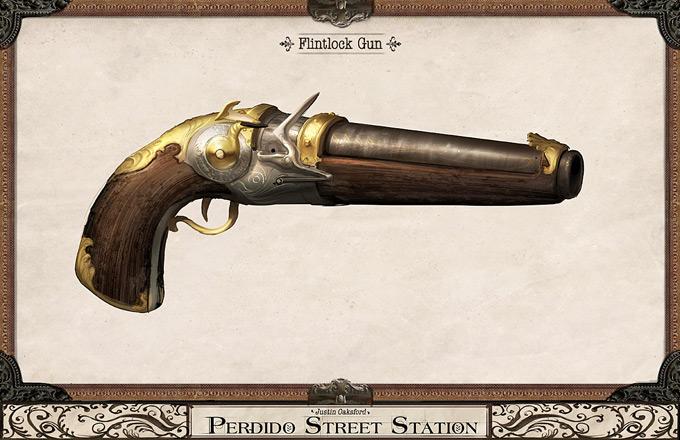 Weapon Concept Art Justin Oaksford