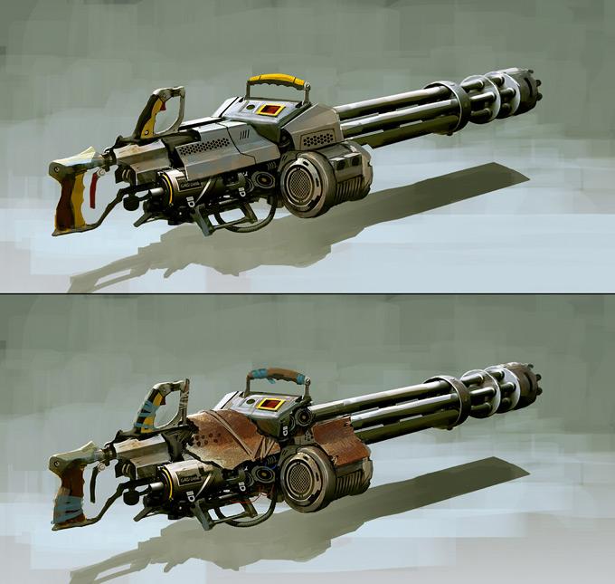 Weapon Concept Art Leonid Enin