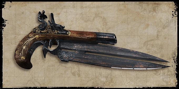 Weapon Concept Art Marc Samson