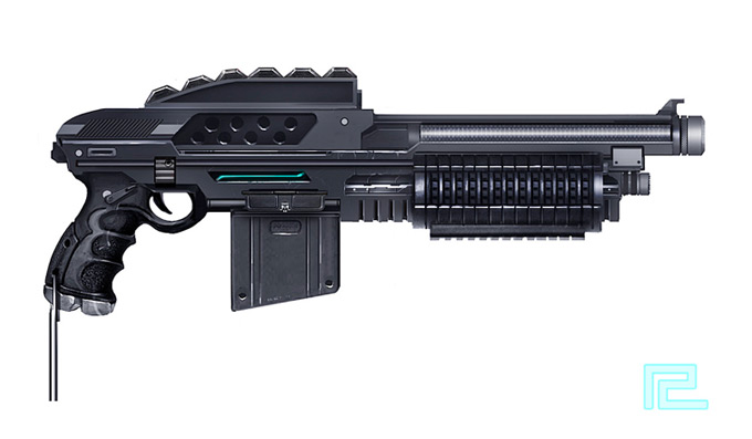 Weapon Concept Art Robin Chyo