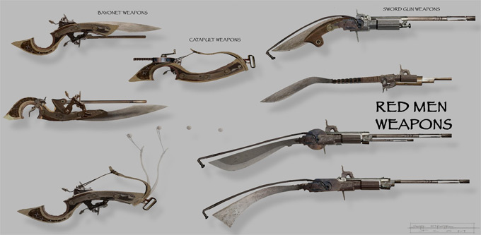 Weapon Concept Art Seth Engstrom