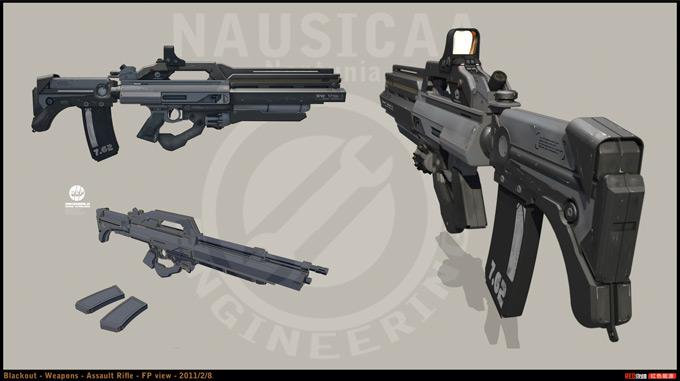Weapon Concept Art Stanislav Poltavsky