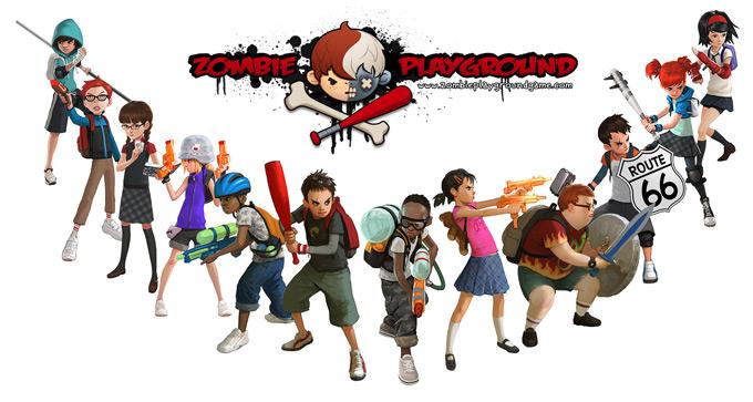Zombie Playground Concept Art