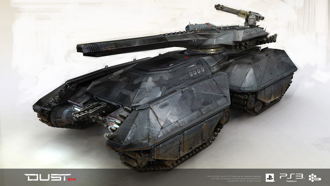 DUST 514 Concept Art Tank