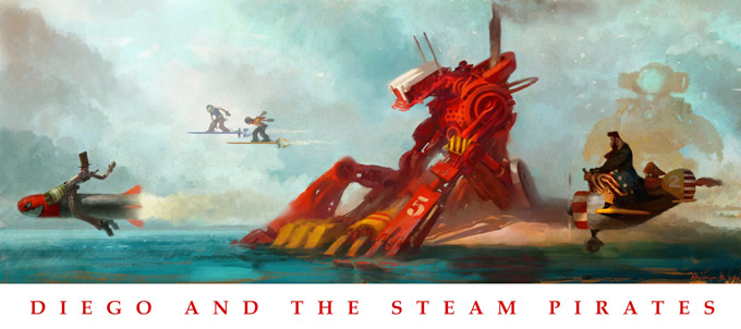 Diego and the Steam Pirates 02a