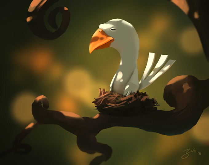 Goro Fujita Concept Art and Illustrations