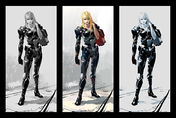 Graven Tung Concept Art Blonde