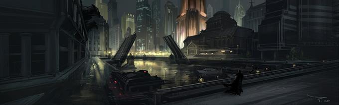 Graven Tung Concept Art Darkcity