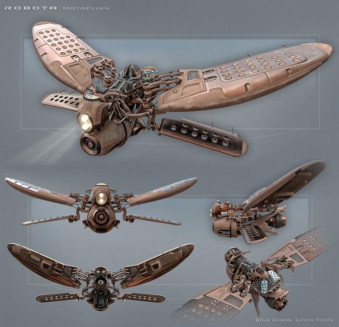 Landis Fields Visual Development and 3D Concept Artist
