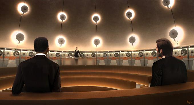 Men in Black 3 Concept Art by Craig Shoji