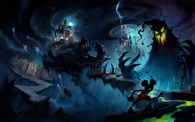 Epic Mickey Concept Art by Jordan Lamarre-Wan