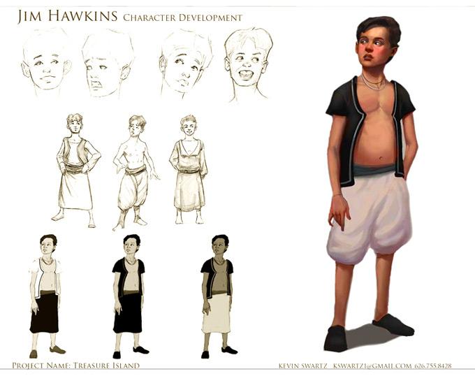 Kevin Swartz Concept Art
