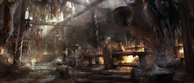 Snow White and the Huntsman Concept Art by Joel Chang