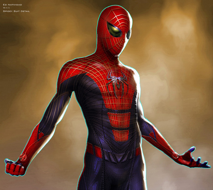 The Amazing Spider-Man Concept Art by Ed Natividad