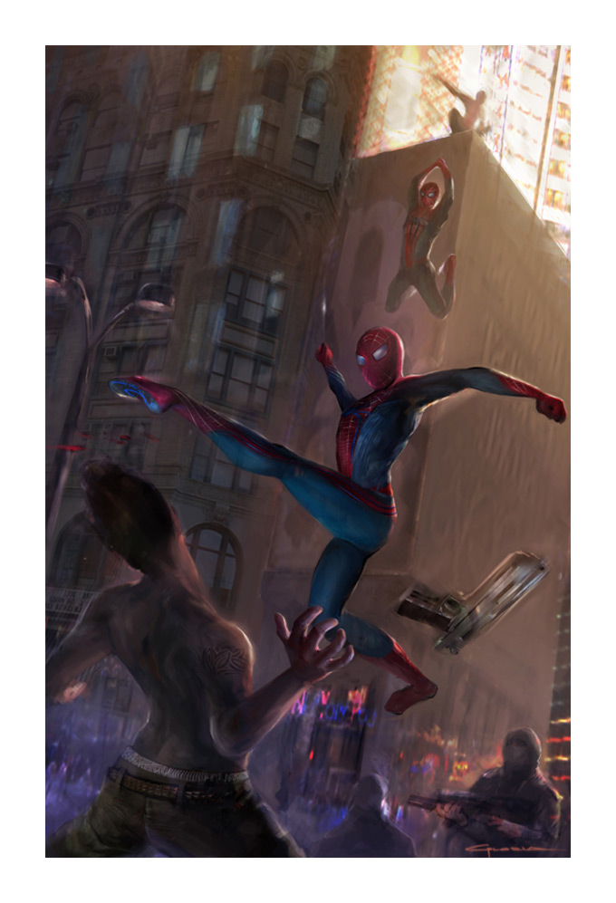 The Amazing Spider-Man Concept Art by Gloria Shih