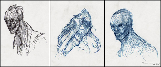 The Amazing Spider-Man Concept Art by Jerad S. Marantz