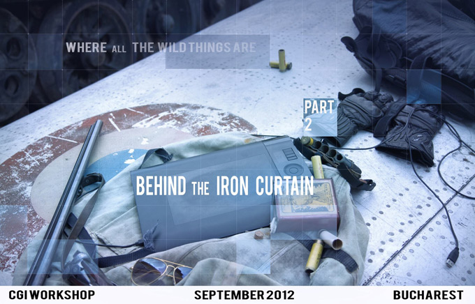 Behind the Iron Curtain-Concept Art and 3D workshop