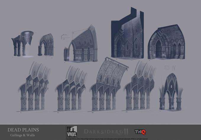Darksiders II Concept Art by Jonathan Kirtz