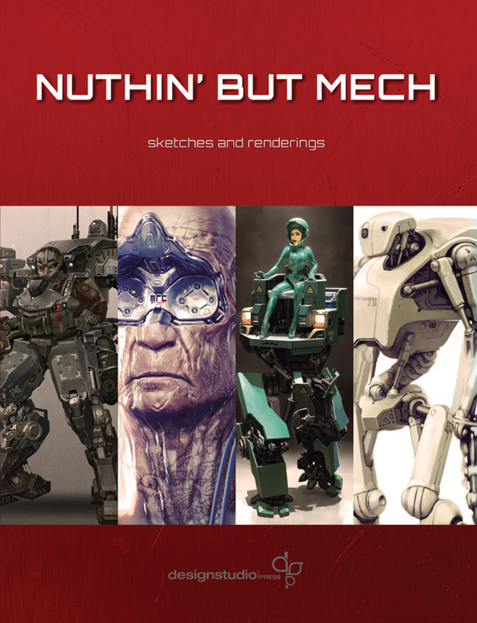 Nuthin' But Mech Concept Art and Illustrations