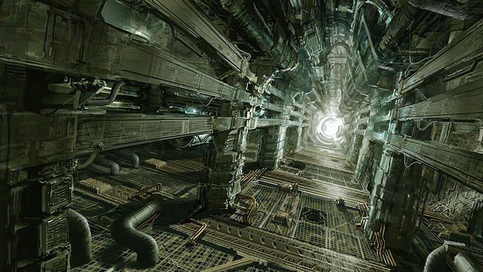 Dead Space Concept Art by Jason Courtney
