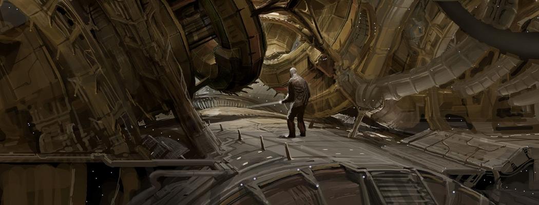 Dead Space Concept Art by Jason Courtney MA